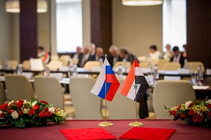 Oboronlogistika took part in the 10th meeting of the Permanent Russian-Syrian Commission